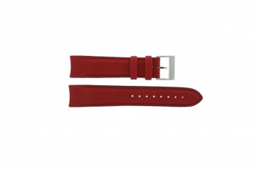 Nautica cinturino orologio A24515G / N16532 Pelle Rosso 22mm