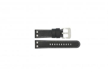 Cinturino per orologio TW Steel TWB22 / TW22 Pelle Nero 22mm