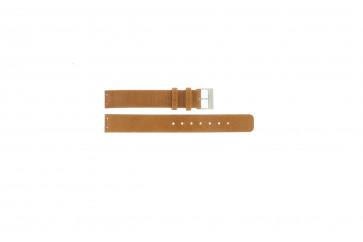 Cinturino orologio Skagen in pelle 355SSLGC marrone
