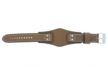 Fossil cinturino orologio CH-2986 Pelle Cognac 22mm