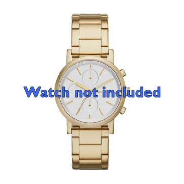 DKNY cinturino orologio NY-2274 Acciaio Oro (Placcato) 20mm