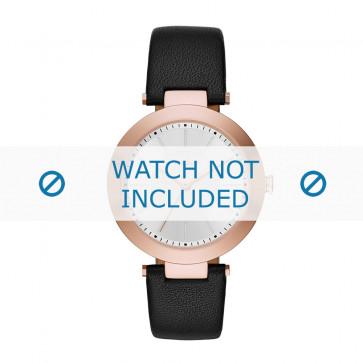 DKNY cinturino orologio NY-2468 Pelle Nero 18mm