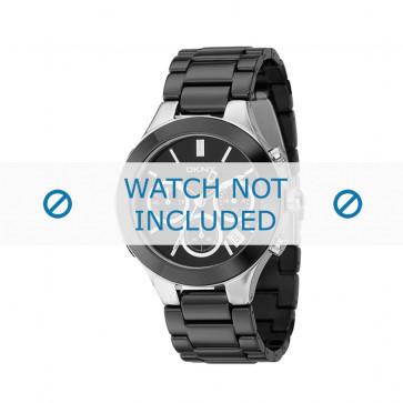 DKNY cinturino orologio NY-4914 Ceramica Nero 18mm