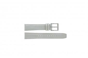 Cinturino per orologio DKNY NY8585 Pelle Grigio 18mm