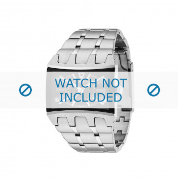 Cinturino per orologio Police 13420JS/02MA Acciaio Acciaio 30mm
