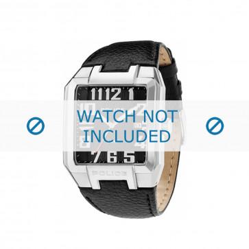 Police cinturino dell'orologio PL-13751JS/02 Pelle Nero