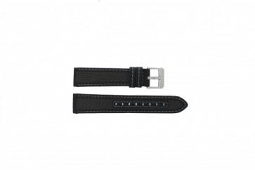Cinturino orologio in carbonio, nero, 20mm 865
