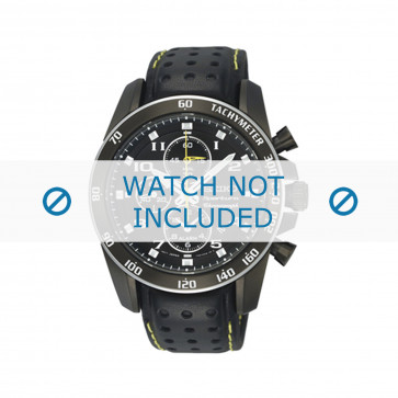 Cinturino per orologio Seiko 7T62-0KV0 (04B) / SNAE67P1 / L01M012M0 Pelle Nero 21mm