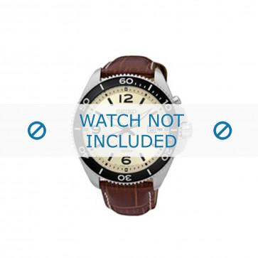 Cinturino per orologio 5M82-0AY0 / SKA749P1 Pelle di coccodrillo Marrone 22mm
