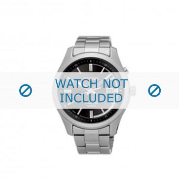 Seiko cinturino dell'orologio SKA719P1 / 5M82 0AV0 Metallo Argento 20mm