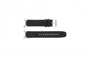 Seiko cinturino dell'orologio 7T62-0GW0 / SNAA39P1 Pelle Marrone 21mm + cuciture di default