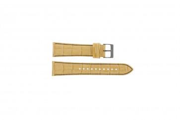 Cinturino per orologio Seiko 7T92-0NK0 / SNDD69P1 / L08C012N0 Pelle Marrone chiaro 22mm
