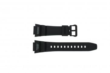 Cinturino per orologio Casio SGW-500H-1BV Plastica Nero 18mm