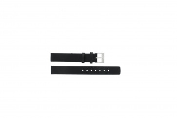 Cinturino per orologio Skagen 355SSLW / 355SSLB Pelle Nero 14mm