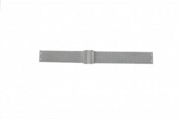 Skagen cinturino dell'orologio 358SSSBD / 358SGSC / 358SSSB / 358SSSD / 358SSSP Metallo Argento 14mm