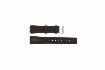 Cinturino per orologio Skagen 433LSL1 Pelle Marrone 20mm