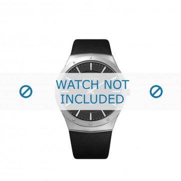 Cinturino per orologio Skagen 509XXLSLM Pelle Nero