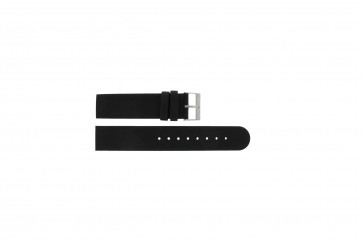 Skagen cinturino dell'orologio 533LTLW / 533LTLM Pelle Nero 20mm