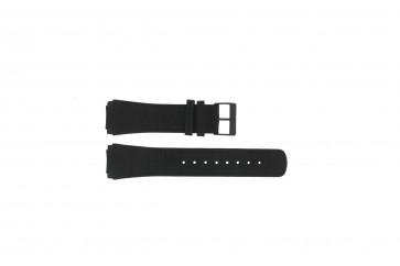 Cinturino per orologio Skagen 856XLBLB Pelle di coccodrillo Nero 23mm