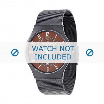 Skagen cinturino orologio 233XLTMD Titanio Argento 22mm