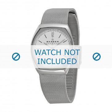 Skagen cinturino dell'orologio SKW2049 Metallo Argento 14mm