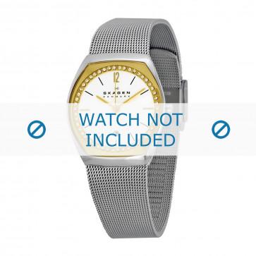 Skagen cinturino dell'orologio SKW2050 Metallo Argento