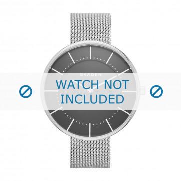 Skagen cinturino dell'orologio SKW2561 Metallo Argento 16mm