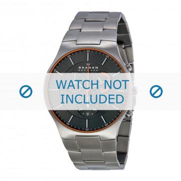 Cinturino per orologio Skagen SKW6076 Titanio Acciaio 25mm