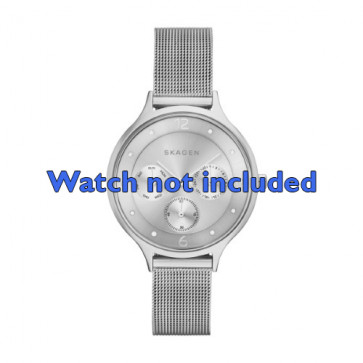 Skagen cinturino orologio SKW2312 Acciaio Argento 14mm