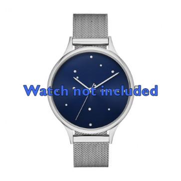 Skagen cinturino orologio SKW2391 Acciaio Argento 14mm