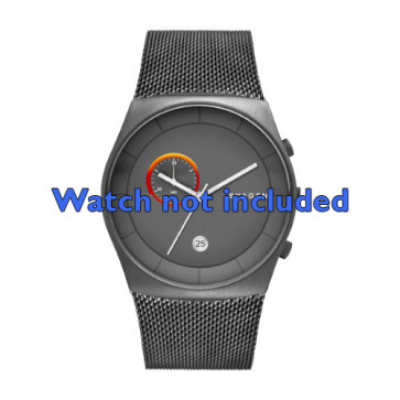 Skagen cinturino orologio SKW6186 Acciaio Grigio 30mm