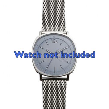 Skagen cinturino orologio SKW6255 Acciaio Argento 22mm