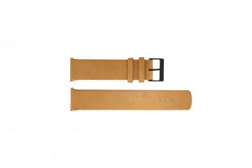 Cinturino per orologio Skagen SKW6265 Pelle Marrone 22mm