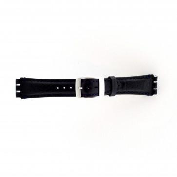 Cinturino orologio per Swatch, blu scuro, 19mm PVK-SC14.05