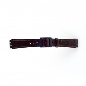 Cinturino per orologio Swatch SC04.02 Pelle Marrone 17mm