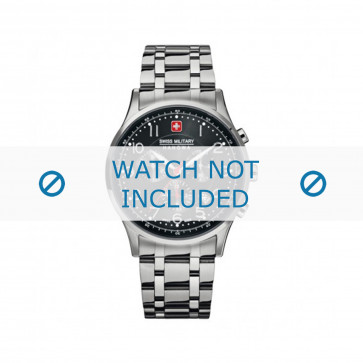 Cinturino per orologio Swiss Military Hanowa 06-5187.04.007 Acciaio 22mm