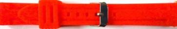 Cinturino per orologio Universale 253 Silicone Rosso 24mm