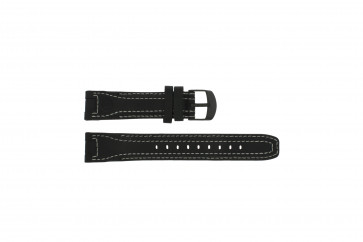Timex cinturino orologio T42351 Pelle Nero 20mm