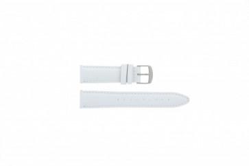 Timex cinturino orologio T2N345 Pelle Bianco 20mm