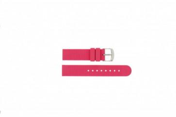 Timex cinturino orologio T2N789 Gomma Rosa 18mm