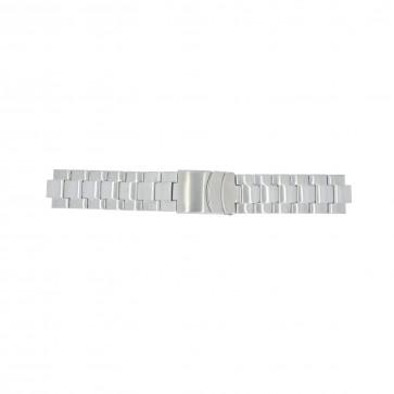 Timex cinturino orologio T2N809 Acciaio Argento 10mm