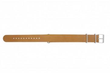Timex cinturino orologio T2P492 Pelle Marrone 20mm