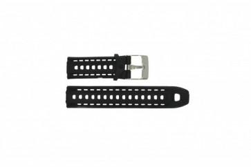 Timex cinturino orologio T5K549 Silicone Nero 22mm
