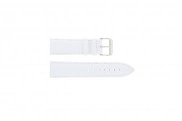 Tommy Hilfiger cinturino orologio TH03 3 14 0601 Pelle Bianco 22mm