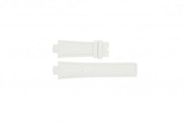 Breil cinturino dell'orologio TW0394 / F660012788 Pelle Bianco 12mm + cuciture bianco
