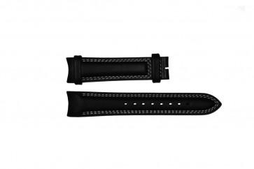 Cinturino per orologio Breil TW0678 Pelle Nero 22mm