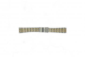 Morellato cinturino orologio U0220184 Acciaio Argento 18mm