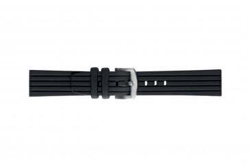 Morellato cinturino dell'orologio Brenta U4025187019ST26 / PMU019BRENTA26 Gomma / plastica Nero 26mm
