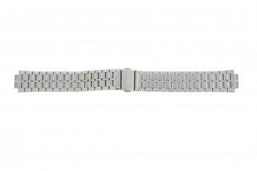 Lorus cinturino dell'orologio VX43-X092 / RXN01DX9 Metallo Argento 18mm