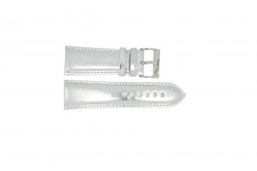 Cinturino per orologio Universale 369.31 Pelle Grigio 30mm